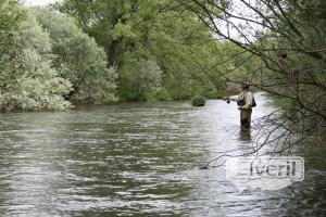 """Con el rio """"por los praos"""", envoyé par: barbo"""