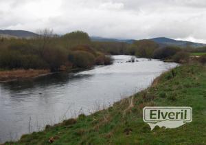 Río abajo del refugio, sent by: Miguel Ángel