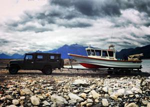 Pesca en el Llanquihue, sent by: Alfredo Labbé (Not registered)
