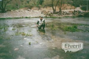 Pescando truchas en el río Guadalentín, sent by: luisca