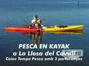 Pesca en Kayak, sent by: Kayak k1 - La Llosa del Cavall (Not registered)